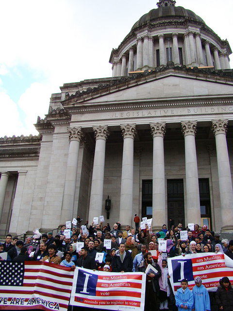 Muslim Day at the Capitol 2011. (Photo courtesy of CAIR)