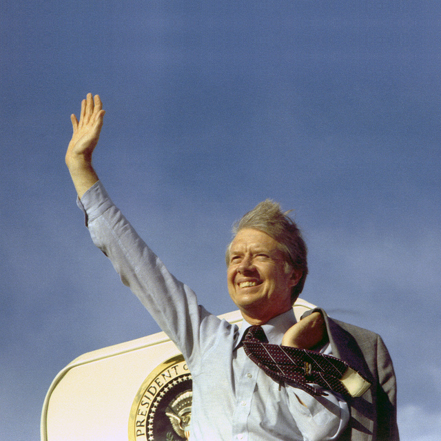 A younger, less popular Jimmy Carter (photo from flickr user gademocrats)