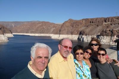 Jordan family Vegas visit