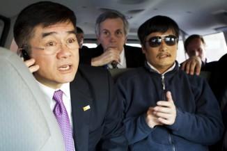 blind activist Chen Guangcheng in Beijing