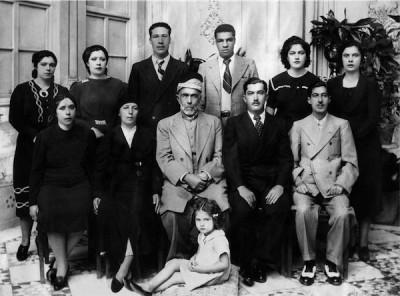 Palestine Jordan family