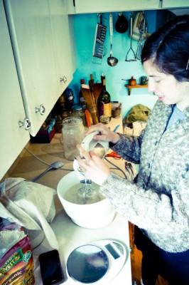 Preparing gluten-free bread