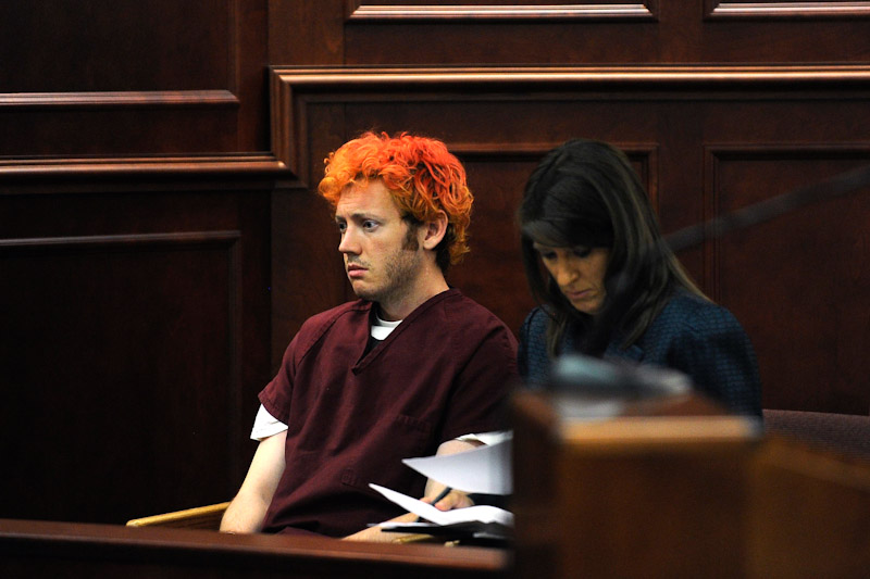 Mass shootings like the one by James Holmes at a Batman movie premiere in Colorado last month have not prompted serious political dialogue about gun control, despite the ease with which mentally ill people and members of hate groups appear to obtain weapons. (Photo from REUTERS/RJ Sangosti)