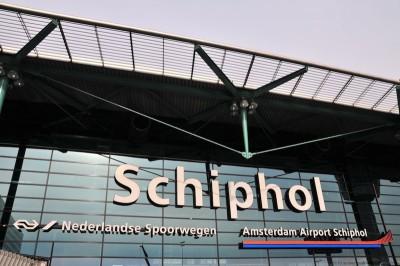 Schiphol Airport sign Amersterdam