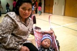 Ma Myaw and her son William Hu are two of hundreds of refugees from Myanmar who have settled in the Pacific Northwest. (Photo by Ana Sofia Knauf)