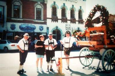 My mom, Ingrid Conerly, who grew up in the real Bavaria, testifies to Leavenworth's authenticity. (Photo courtesy Ingrid Conerly)