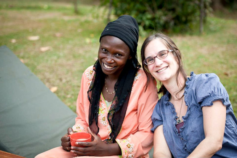 One by One, a local NGO founded by Heidi Breeze-Harris (right) to fight fistula, a birthing injury that is devastating if it goes untreated. (Photo courtesy Seattle International Foundation)