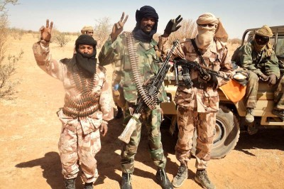 Tuareg people spread across five nations in the central Sahara have long sought independence. But last January rebels in Northen Mali began a movement for succession. (Photo via magharebia.com)