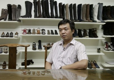 Wang Youliang, shoe manufacturer, has seen five of his friends abandon businesses and one commit suicide since the economic crisis began in 2008.
