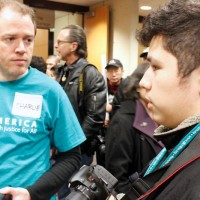 "Seattle Globalist reporter Quipachtli Martinez speaks with OneAmerica Communication Director Charlie McAteer. ""These people came all over the world to come help make a difference. I value that,"" McAteer said."