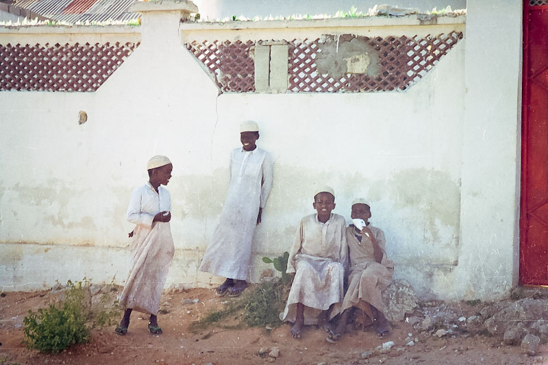 Somali boys on the street in Mogadishu. (Photo from flickr via ctsnow