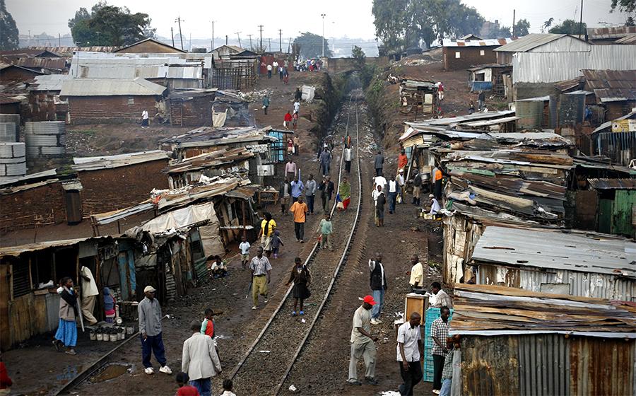 Life In Kenya Slum Sheds Light On Growing Global Reality