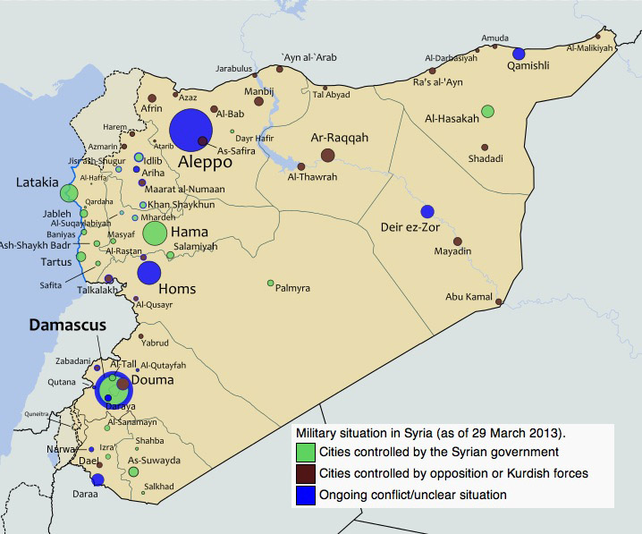 What the heck is happening in Syria? - The Seattle Globalist