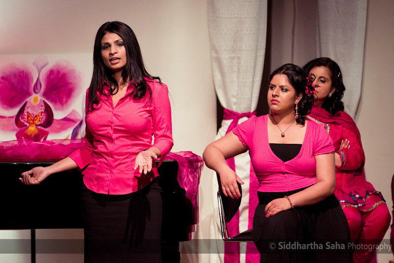 Performers at the 2011 Seattle Yoni Ki Baat. (Photo by Siddhartha Saha)