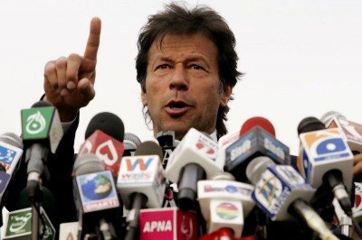 Cricket star turned politician Imran Khan, whose PTI party failed to meet lofty expectations in the elections.