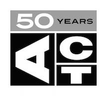 ACT_logo_50_years_bw_small