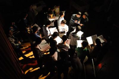 Shining Jazzy Chorus rehearsing in Beijing.
