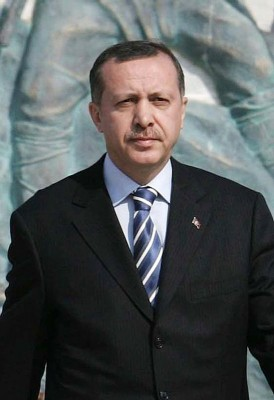 Turkish Prime Minister Tayyip Erdogan. (Photo from Wikimedia Commons)