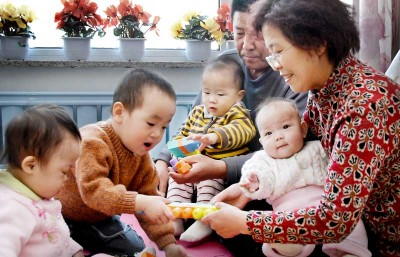 Half the Sky Foundation is devoted to bringing quality care to orphans in China. (Photo courtesy HTS)