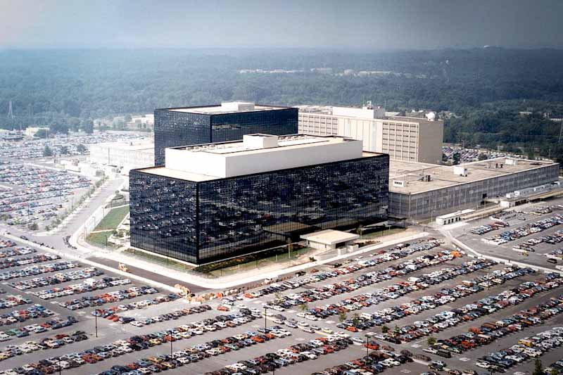 National Security Agency headquarters, in Maryland. (Photo from Wikipedia)