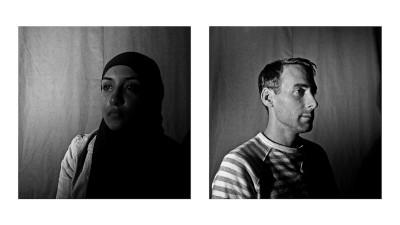 Artist Omneia Naguib. (Photos by Keith Lane and Omneia Naguib)
