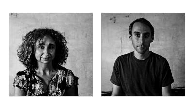 Curator & Photographer Heba Farid. (Photos by Keith Lane and Heba Farid)