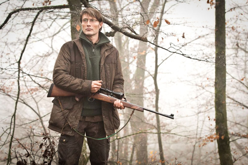 "Mads Mikkelsen in the Danish film ""The Hunt"""