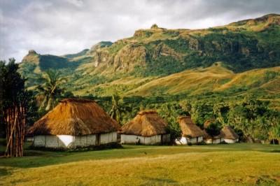 The village of Navala in the Nausori Highlands of Fiji's biggest island, Viti Levu. (Photo from Wikipedia)