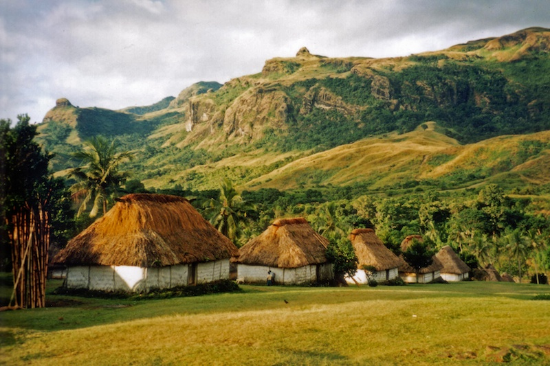The village of Navala in the Nausori Highlands of Fiji's biggest island, Viti Levu. (Photo from Wikipedia)