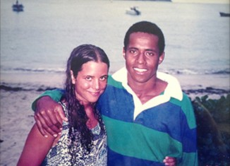 Janet and Semi Lotawa in Fiji, circa 1995. (Photo courtesy Janet Lotawa)
