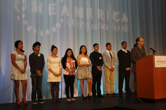 Participants in OneAmerica's youth program. Photo thanks to OneAmerica.