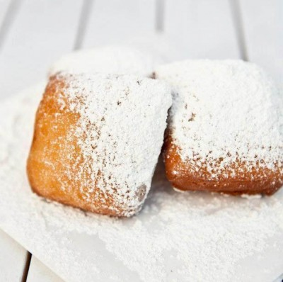 The mouth-watering hot beignets from Where Ya At Matt. Photo via Facebook.