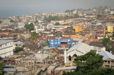 Freetown, Sierra Leone. (Photo by Magnus Ohman via Wikipedia)