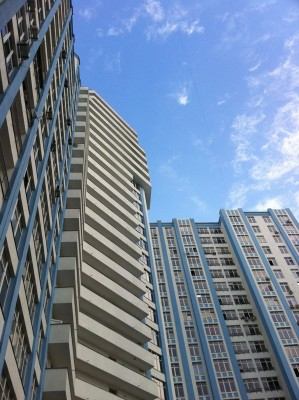 Na'Vi practices in a high-rise apartment building in Kiev, Ukraine. Photo by Sarah Stuteville.