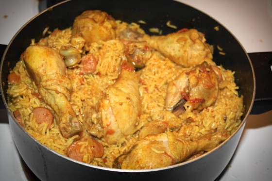 Chicken Biryani is one of the most popular foods in the South Asian subcontinent. (Photo by Adnan Ali Syed)