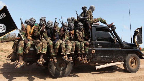 Members of Al-Shabaab in Somalia. (Photo from REUTERS/Feisal Omar)
