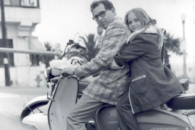 Filmmaker Delaney Ruston with her father, who was later diagnosed with paranoid schizophrenia. (Photo courtesy Hidden Pictures)