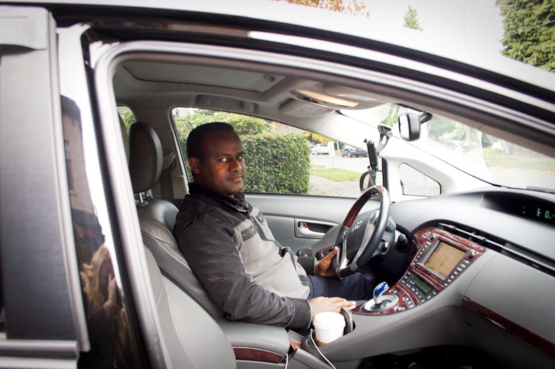 Immigrant drivers switch sides in the taxi vs ride share