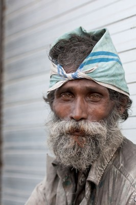 "A homeless man in Galle, Sri Lanka. (Photo by <a href=""http://www.flickr.com/photos/photosightfaces/with/7603689532/"">Brett Davies </a> via Flickr)"
