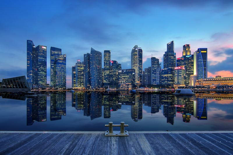 Singapore — another shining city by the sea. (Photo by Erwin Soo via Flickr)