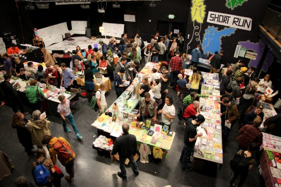 Last year's Short Run Small Press Fest. (Photo by Alex Stonehill)