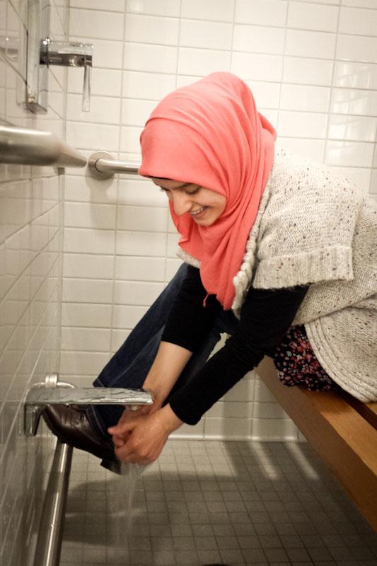 Muslim Women Change Room