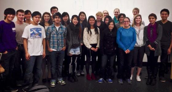 Members of UW Global Heed. (Photo courtesy Mitchell Chen)