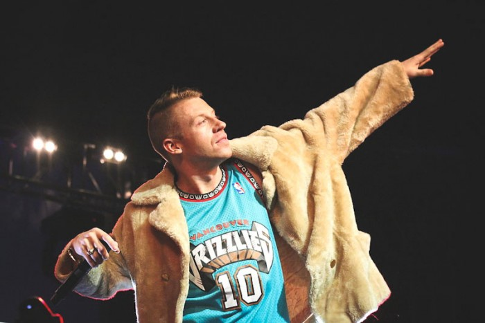 Macklemore & Ryan Lewis perform in San Francisco on their 2013 tour. (Photo by Amanda Rhoades / SF Foghorn)