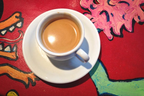 Cuban espresso at El Diablo Coffee Company in Queen Anne. (Photo by Brett Konen)