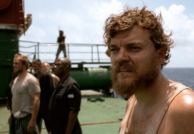 """In """"A Hijacking,"""" a Danish cargo ship is heading for harbor when it is hijacked by Somali pirates in the Indian Ocean."""