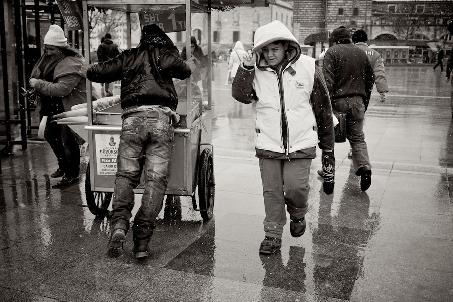 A rainy day in Istanbul (Photo by Thomas Leuthard)