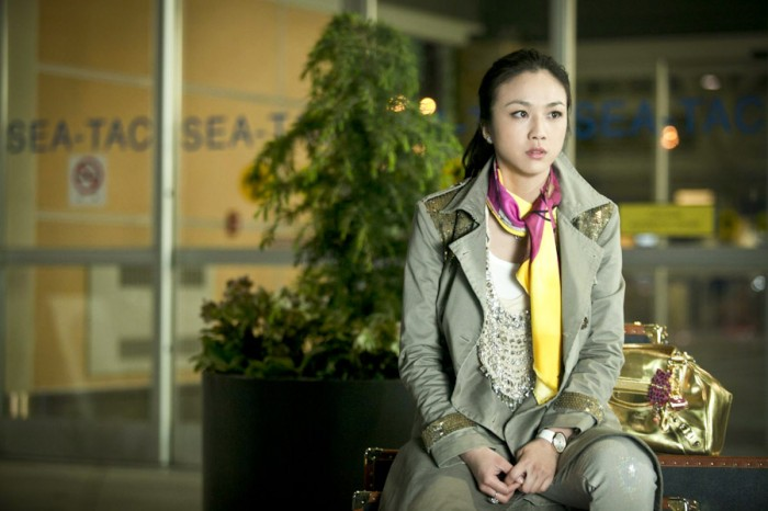 "In ""Beijing Meets Seattle"" Actress Tang Wei plays a materialistic woman who travels to Seattle to give birth to the child of her married Beijing lover."