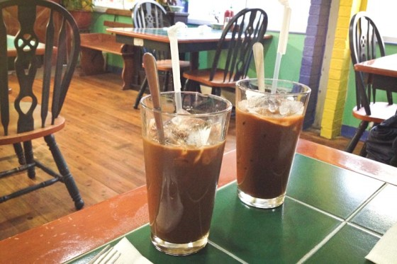 Vietnamese coffee at Spice Orient & Pho Bistro downtown. (Photo by Brett Konen)