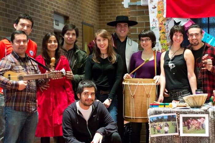 The author's group from their first year at CulturalFest. (Photo courtesy of Rodrigo Cardenas)